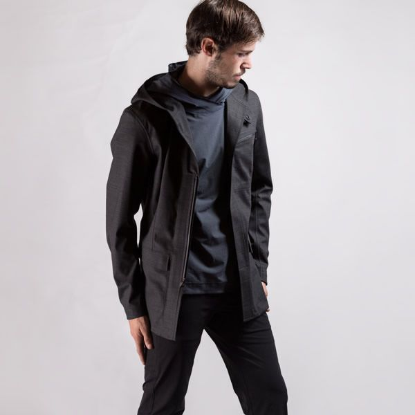 The Remi Waterproof Hooded Blazer by Advanced Projects