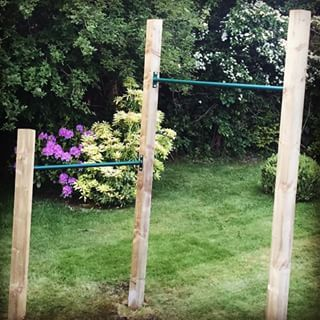 http://teds-woodworking.digimkts.com/ awesome i want to make one myself dyi woodworking tree stumps outdoor pull up bar diy - Google Search