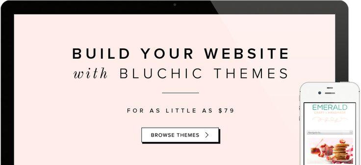 BluChic- chic, feminine WordPress themes for female entrepreneurs