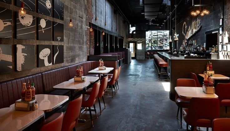 Work Satellite Room Room, Restaurant design, Portfolio
