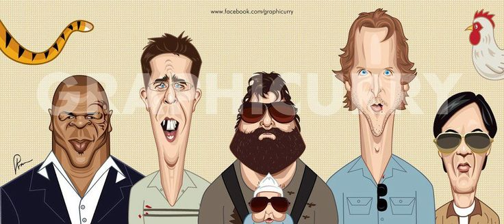 Graphicurry Wall Art - Hangover