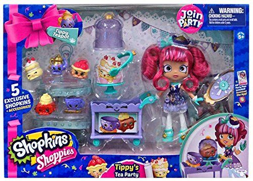 Tippy Teapot Shoppie Playset Shopkins Shoppies Dolls