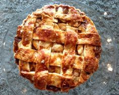 Four and Twenty Blackbirds' Salted Caramel Apple Pie. Used Kelsey Nixons pie crust recipe, and ingredients for salted caramel sauce, but followed directions for sauce in this recipe. Next time will use less lemon juice because it was too soupy.