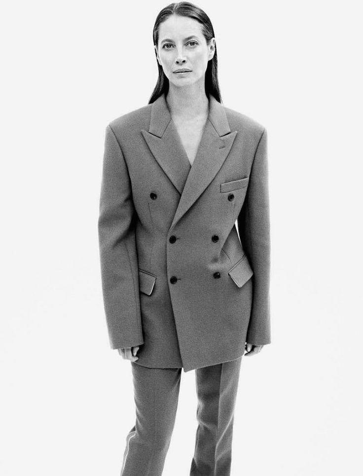 Vogue Germany October 2017: Run Of Life Model: Christy Turlington Photographer: Daniel Jackson Fashion Editor: Christiane Arp Hair Stylist