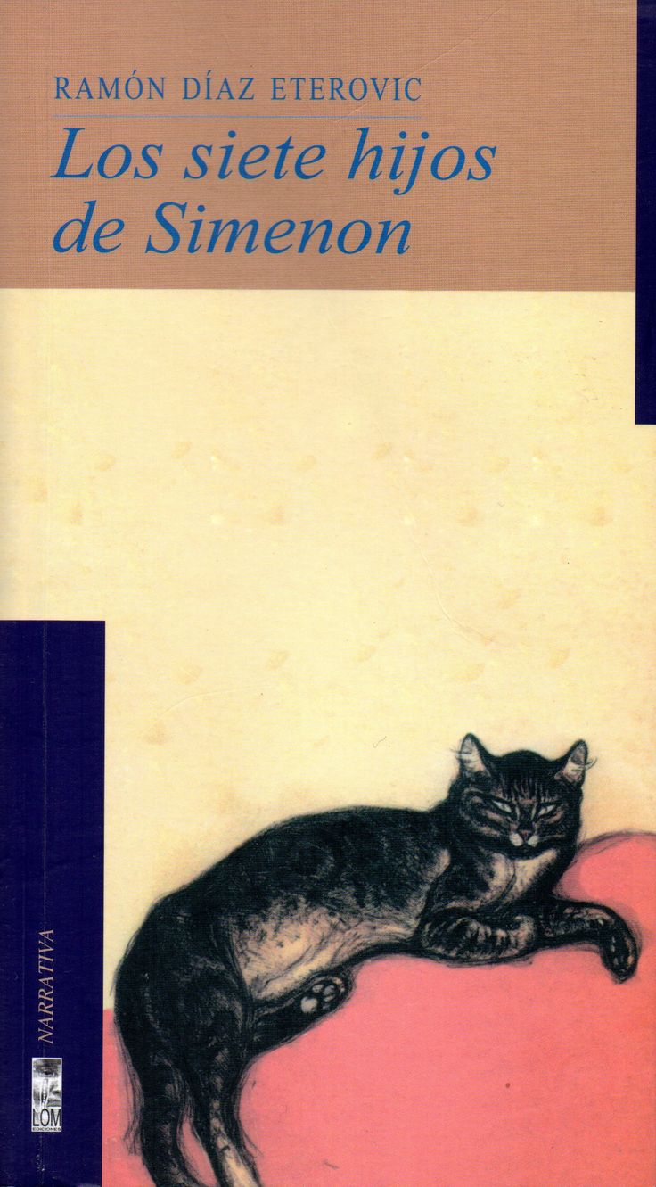 Los siete hijos de Simenon, 6ª - Saga del detective Heredia. Ramón Díaz Eterovic