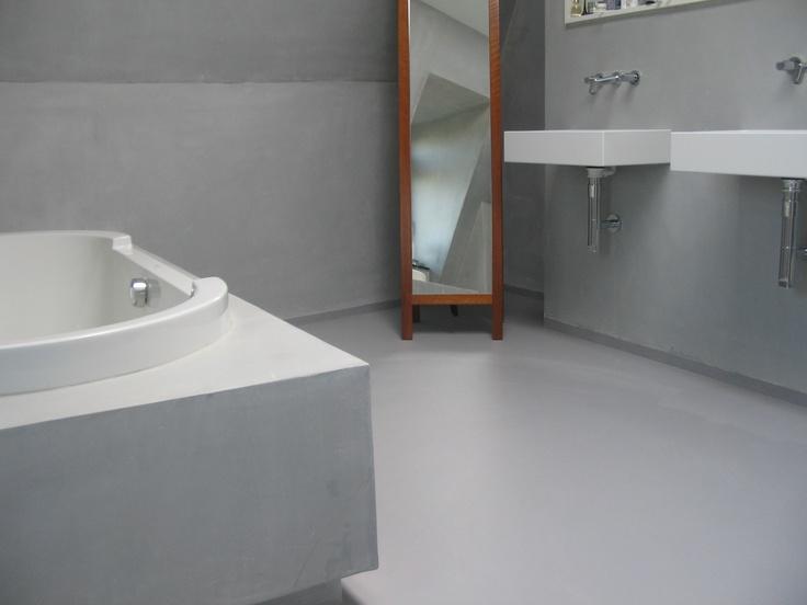 Welke Gietvloer Badkamer : 9 best gietvloeren naadloos design images on pinterest bathrooms