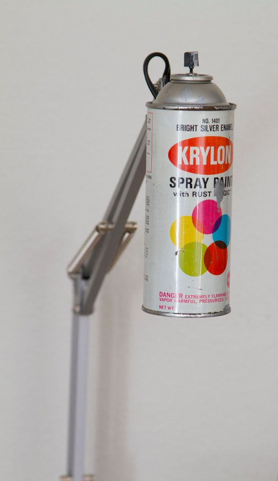 Made to Order Vintage Krylon Spray Paint Swivel Arm by WeaselWrks