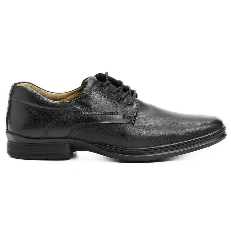 Sapato Conforto Rafarillo Soft Confort Marrom Escuro | Zattini