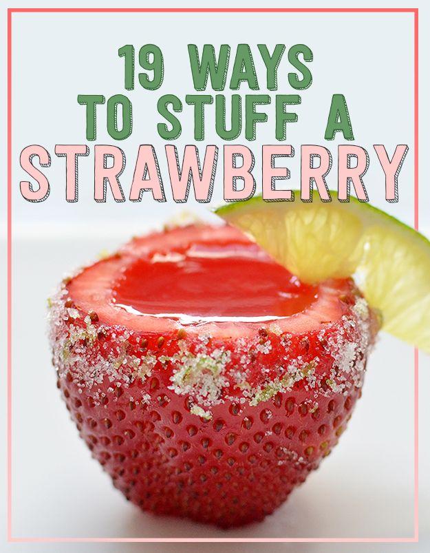 19 Ways To Stuff A Strawberry