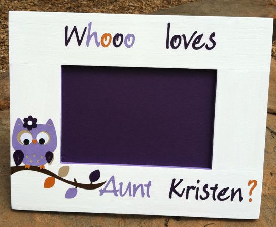 16 best aunts images on pinterest aunt gifts families and aunt quotes new baby new aunt gift idea personalized whooo loves you negle Gallery