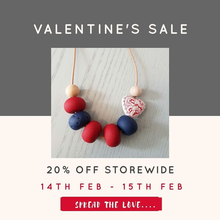 HAPPY VALENTINE'S DAY everyone. We're spreading the love at Millie & Me with 20%off storewide for 2 days. Why not spoil someone or even yourself??