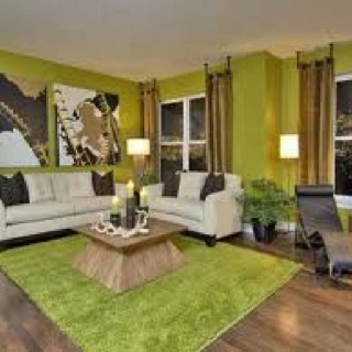 Image Detail For Living Room Design Decor Idea Green Centre Table
