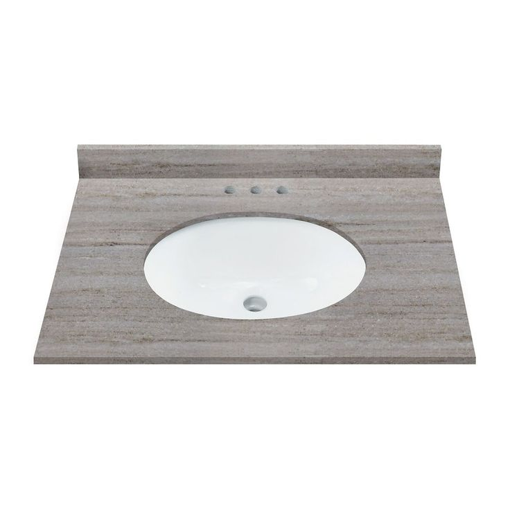 31 Inch W Coastal Sands Natural Granite Vanity Top