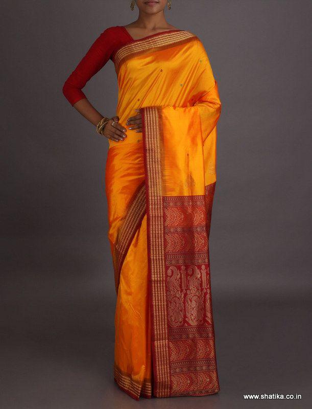 Garima Traditional Color Combination #SambalpuriSilkSaree
