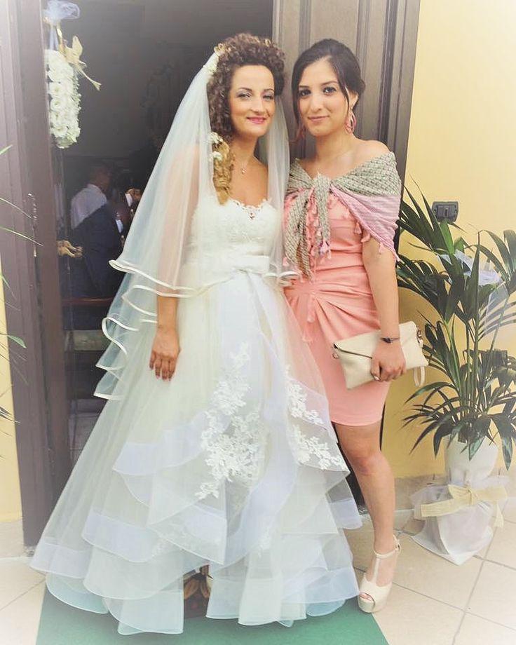 Auguri a Filomena per aver condiviso con noi il suo giorno più bello! #weddingday #amore #love #oggisposi #noi #insieme #amore