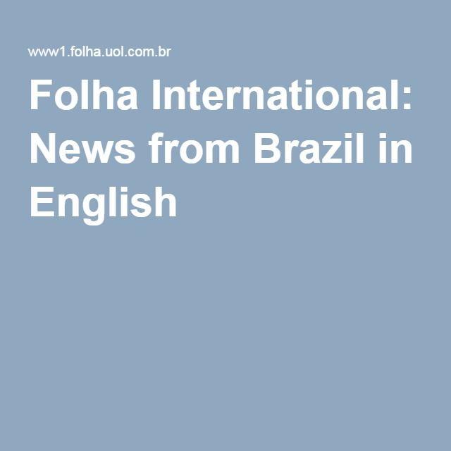 Folha International: News from Brazil in English