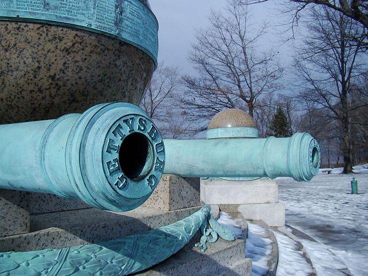 File:Battle Monument Gettysburg Cannon.JPG