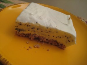 Poppy Seed Torte.  This looks similar to my fav dessert from my fav childhood restaurant.  I have to try this recipe!