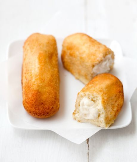 Twinkies To fill your Twinkie craving without any of that chemical junk, try this recipe for vanilla snack cakes. You can even add raspberry filling, coconut flakes, chocolate coating, or make them vegan or gluten-free.