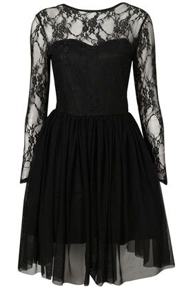 **Lace Bodice Prom Dress by Rare