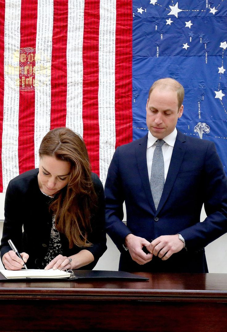 The Royal couple paid their respects to the Orlando shooting victims at the U.S. Embassy in London on Tuesday, June 14, 2016