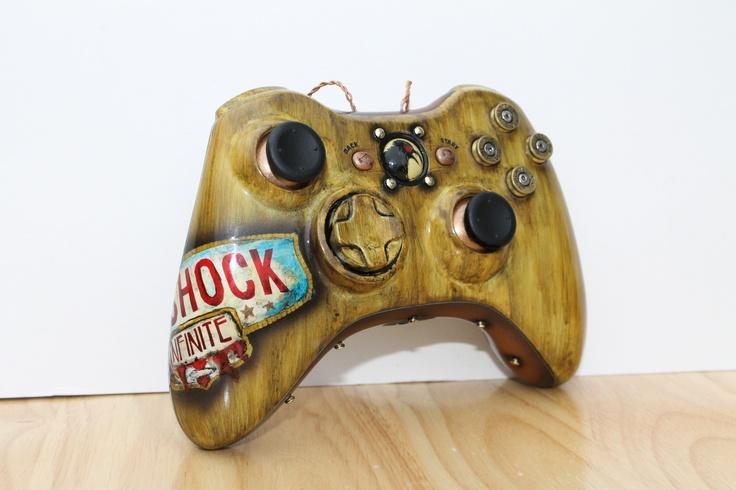 Bioshock Infinite Xbox 360 Controller I made c: