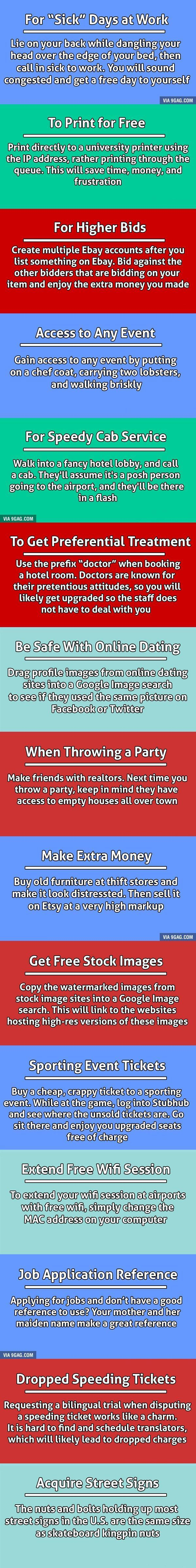 15 Unethical Life Hacks To Help You Get What You Want. #LifeHacks