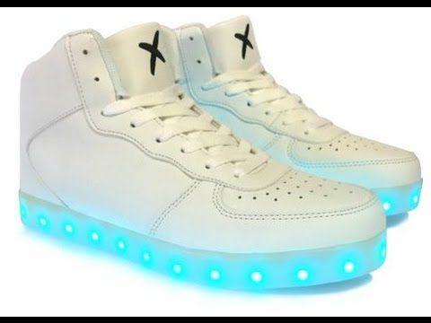 c225674f8 الحذاء المضيء Led Shoes تسوق اونلاين مع مول العرب   Araby mall  مول العرب    Shoes, High top sneakers, Sneakers