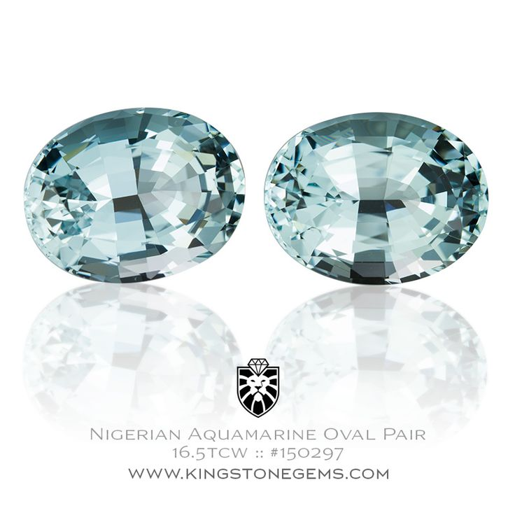 Natural Nigeria Blue Aquamarine Oval - 16.5ct - 15.2x11.7x8.3mm - SKU# 150297 - This is a beautiful blue Nigerian aquamarine that is finely cut and polished.