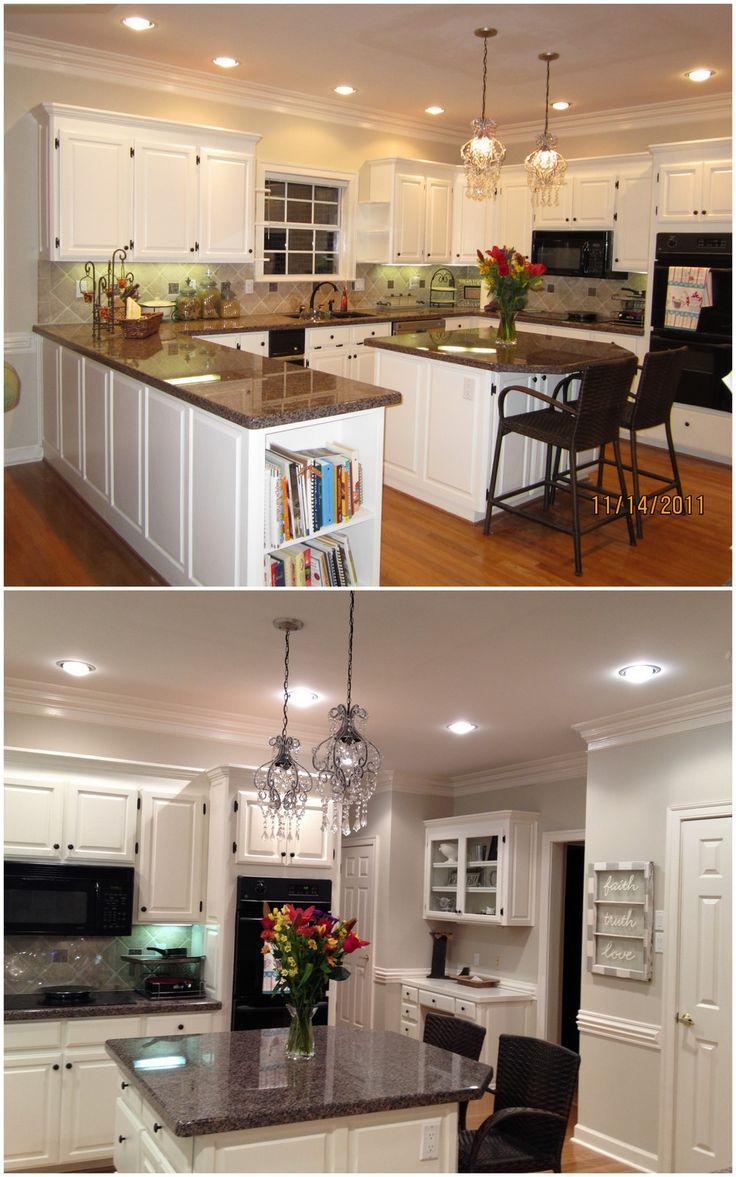 Best Benjamin Moore Linen White Cabinets And Benjamin Moore 400 x 300
