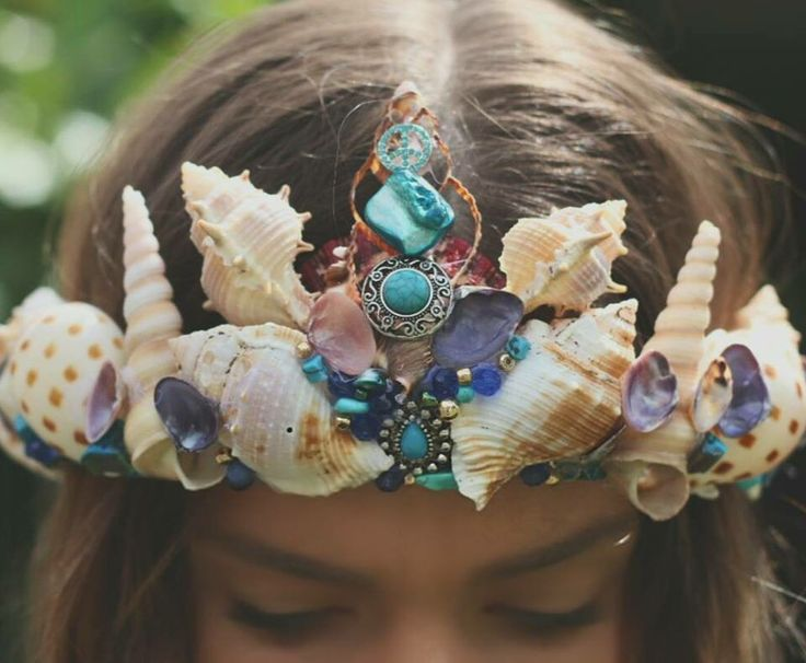 Mermaid crown that I have no need for but you bet your sweet ass I'd wear it anyway. Go ahead and make me happy, Erinn