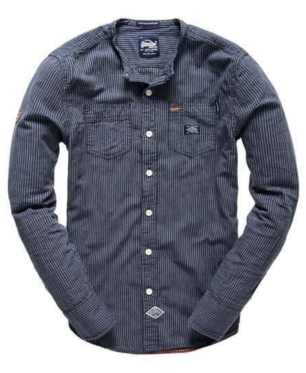Superdry Steelmans Grandad Shirt