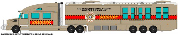 Cambridge County Sheriff Mobile Command by mcspyder1.deviantart.com on @DeviantArt