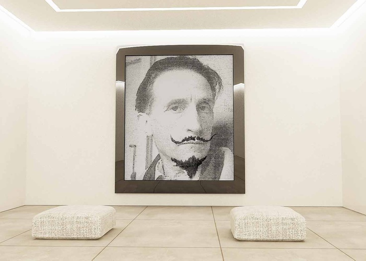 TRIBUTE TO MARCEL DUCHAMP - Private Collection, Milan, 2008.  Demis Valle