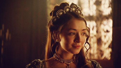 The Lady Mary - daughter of King Henry VIII.