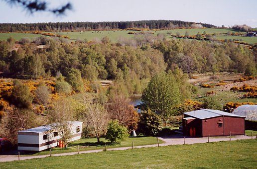 Chalet and Caravan seen from the North
