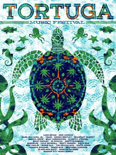 2013-2014 POSTER BUNDLE (2-FOR-1) Order our Official 2014 Poster and get one Official Tortuga 2013 Poster!