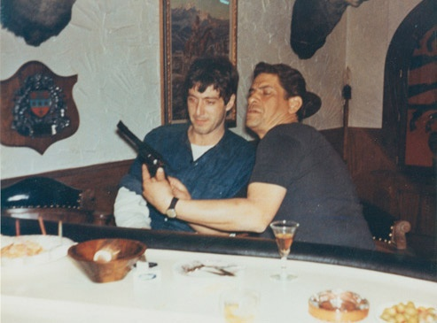 Al Lettieri with Al Pacino (Sollozzo and Corleone in The Godfather)