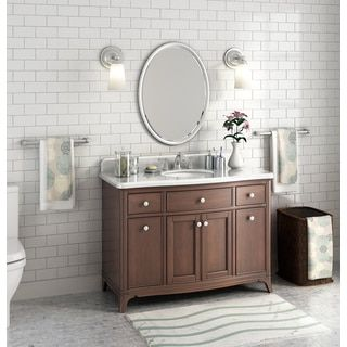 Pic On Shop for Lanza Florence inch Marble Single Sink Vanity Get free delivery at
