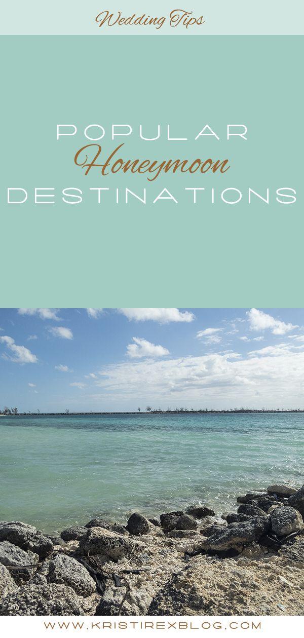 Popular honeymoon destinations