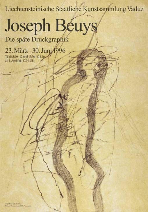 Joseph BeuysJoseph Beuys: Die spate Druckgraphick. Liechtensteinische Art Collection, Vaduz 1996