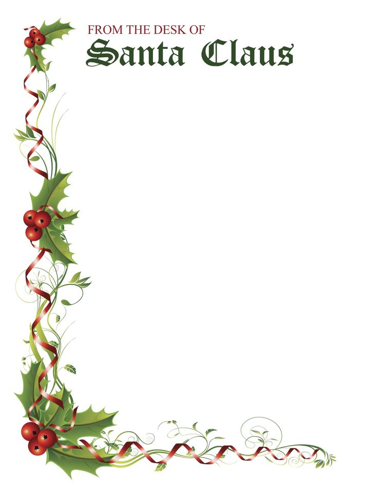 The Original Letter from Santa since 1952 | Santa Claus