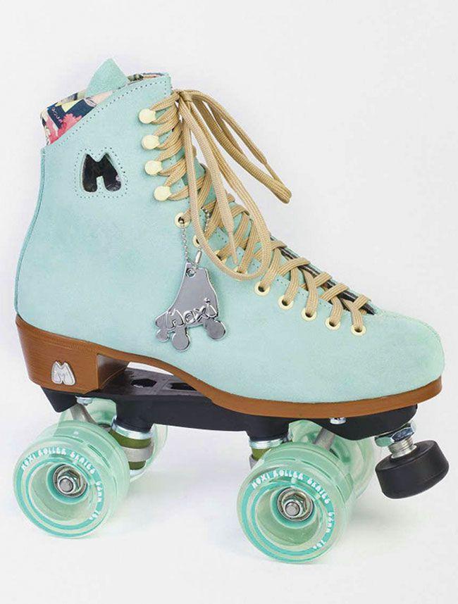Moxi Lolly Roller Skates - Floss Teal <br>Outdoor Roller Skates