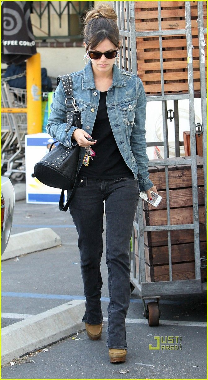 rachel bilson street style fall winter fashion