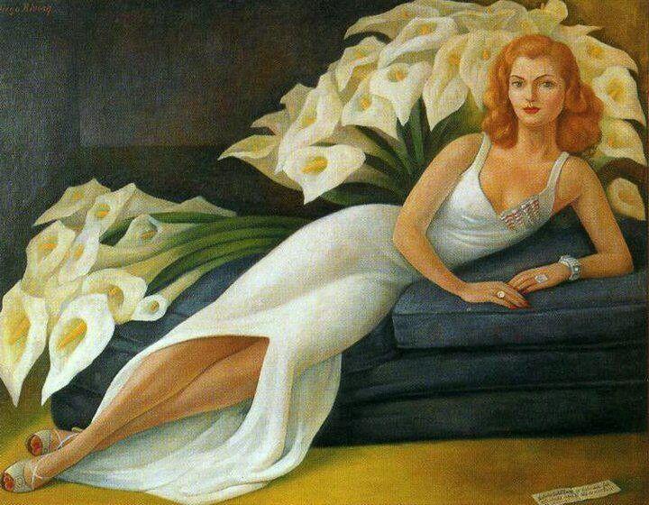 https://flic.kr/p/mtqFzV | Diego Rivera | Retrato de la Señora Natasha Gelman / 1943 / Oleo sobre tela