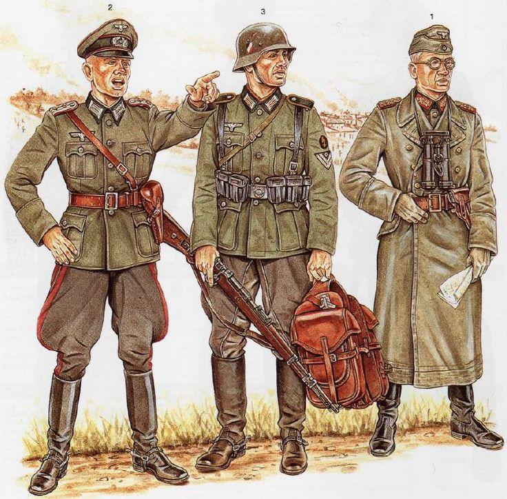 Osprey Draw Of German Uniforms 02 By Wolfenkrieger