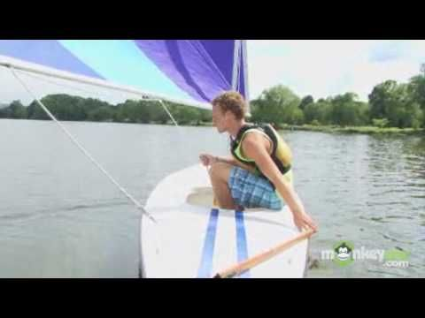 How To Sail: Basic Sailing Manoeuvres  http://www.startedsailing.com  Alex Schulte explains the basics of sailing and shows basic sailboat maneuvering.