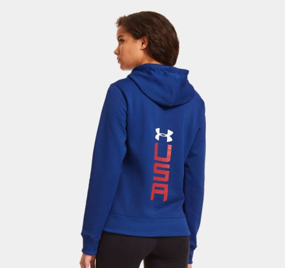 Women's Charged Cotton® Storm USA Hoodie