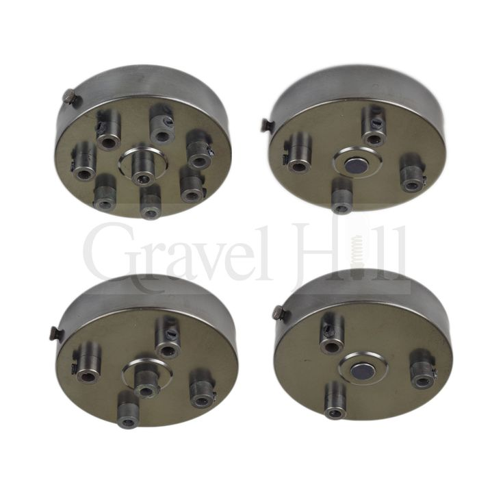 'Premium ' Aged Bronze Multi Outlet Ceiling Roses 1 – 9 Way Drop Options