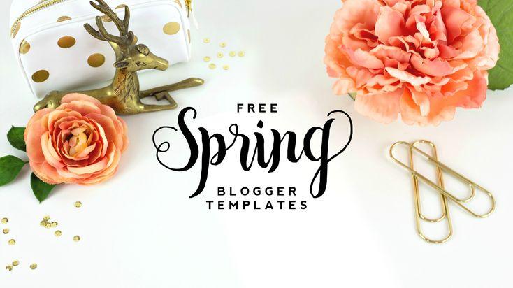 Free Spring Blogger Templates | DesignerBlogs.com